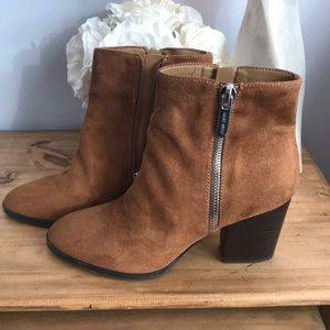 New Nine West Brown Suede Boots- sz. 8